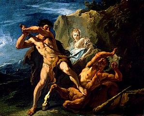 Hercules Killing the Centaur Nessus