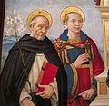 Sebastiano mainardi, madonna col bambino e santi, 1507-08, da museo di incisa, 02.JPG
