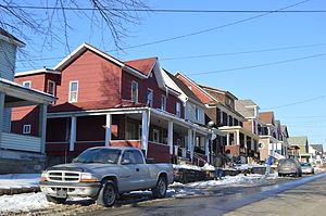East Conemaugh, Pennsylvania - Houses on Second Street