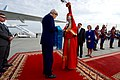 Secretary Kerry Accepts a Gift of Aaruul From a Woman in Traditional Mongolian Dress (27464803245).jpg