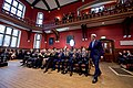 Secretary Kerry Enters the Debating Chamber Before Delivering a Speech to the Union Membership at Oxford (26955497355).jpg