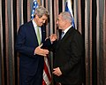 Secretary Kerry and Israeli Prime Minister Netanyahu Before Their Dinner.jpg