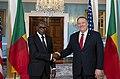 Secretary Pompeo Meets with Benin President Talon (49455059236).jpg