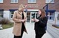 Secretary of State Karen Bradley MP visits Shankill Women's Centre (39807996924).jpg