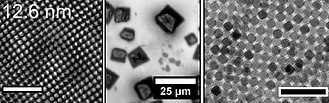 Self-assembly - Image: Self assembly of iron oxide nanocrystals 2