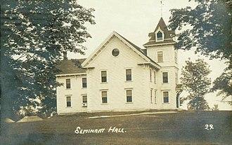 Parsonsfield Seminary - Image: Seminary Hall, Parsonsfield, ME