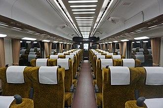 Semboku 12000 series - Image: Senboku liner 1 shanai