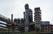 Sendzimir's (Nowa Huta) steel mill, blast furnace, 1 Ujastek street, Nowa Huta, Krakow, Poland