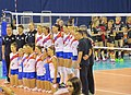 Serbia women's national volleyball team at the European Championships 2015.jpg