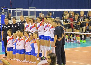 Serbia women's national volleyball team - European Championships 2015, 3rd place