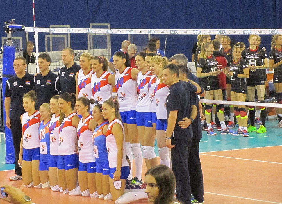 Serbia women's national volleyball team at the European Championships 2015