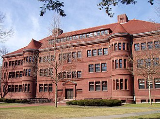 Sever Hall - Sever Hall, east facade.