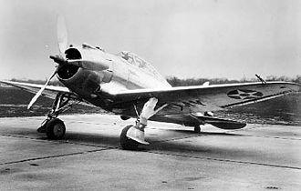 Seversky XP-41 - Image: Seversky XP 41 061019 F 1234P 031