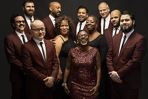 Sharon Jones & the Dap-Kings - Sharon Jones and the Dap Kings pictured in 2015