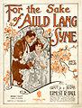 Sheet music cover - FOR THE SAKE OF AULD LANG SYNE - WALTZ BALLAD (1922).jpg