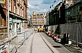 Sheffield Supertram - tramway construction in Church Street (August 1994) - geograph.org.uk - 1705715.jpg