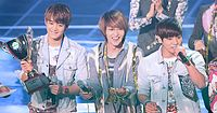 Shinee at the Show Champion on March 2012 03.jpg