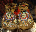 Shoshone moccasins, 1860-1880 - Bata Shoe Museum - DSC00549.JPG