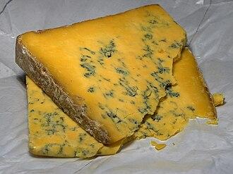 Shropshire Blue - Shropshire Blue Cheese