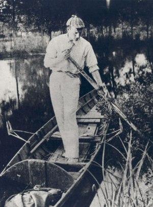 Sidney Paget - Image: Sidney Paget Wearing His Deerstalker Cap