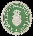 Siegelmarke 2. K.S. Train-Bataillon Nr. 19 W0370653.jpg