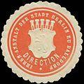 Siegelmarke Direction-Irren-Anstalt der Stadt Berlin zu Dalldorf W0345378.jpg