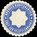 Siegelmarke Grosses Hauptquartier - Chef der Feldtelegraphie W0239444.jpg