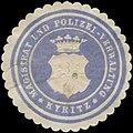 Siegelmarke Magistrat und Polizei-Verwaltung Kyritz W0393684.jpg