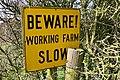 Sign at Twelve Acre Farm - geograph.org.uk - 350002.jpg
