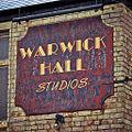 Sign at Warwick Hall Studios, Cardiff.jpg
