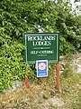 Sign for holiday lodges - geograph.org.uk - 213798.jpg