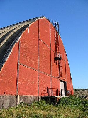 Middleton, Lancashire - Image: Silo, Middleton Industrial Estate geograph.org.uk 1487215