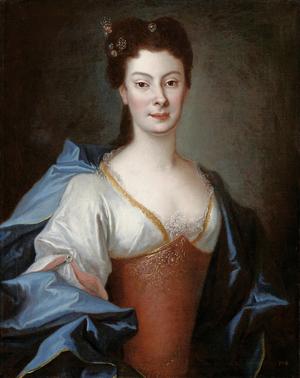Anna Karolina Orzelska - Anna Orzelska by Louis de Silvestre, 1724.