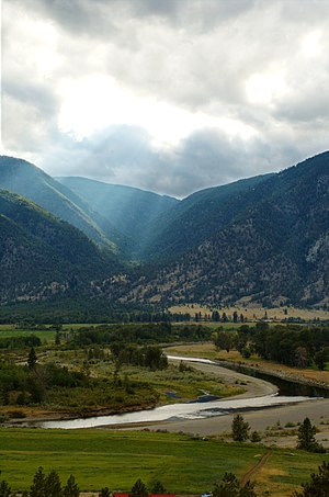 Similkameen River - The Similkameen River near Keremeos