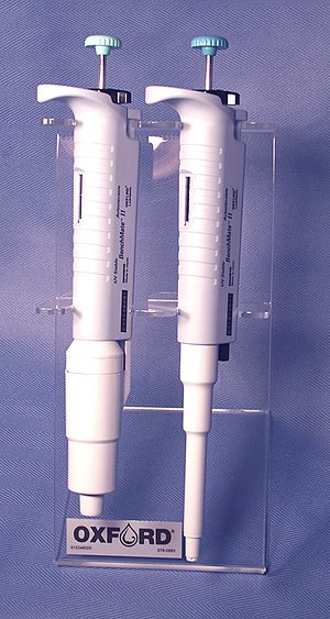 Pipette - Single-Channel Pipettes designed to handle 1-5ml and 100–1000µl with locking system