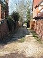 Single track driveway, Hartpury - geograph.org.uk - 697193.jpg