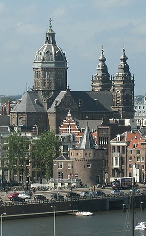 Sint Nicolaaskerk (Sint Nicolaas church) in Am...