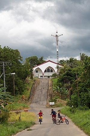 Sipitang District - Image: Sipitang Sabah Catholic Church St. John the Baptist Church Sipitang 02