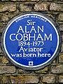 Sir ALAN COBHAM 1894-1973 Aviator was born here.jpg