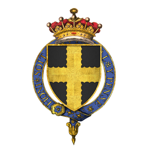 Robert d'Ufford, 1st Earl of Suffolk - Arms of Sir Robert d'Ufford, 1st Earl of Suffolk, KG