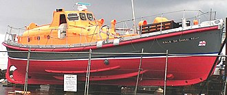 MV Princess Victoria - The Lifeboat Sir Samuel Kelly preserved in Northern Ireland.
