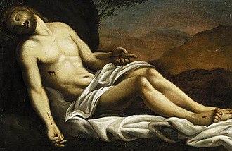 Sisto Badalocchio - Image: Sisto Badalocchio The Dead Christ WGA01139
