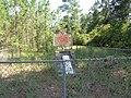 Site Franklinville historical marker full.JPG
