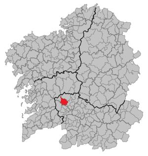 Boborás - Image: Situacion Boborás
