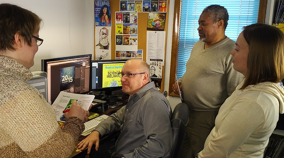 Skeptical Inquirer production staff 2