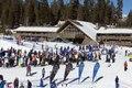 Ski lift area, Mammoth Lakes, California LCCN2013633744.tif