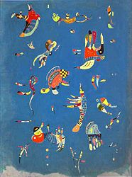 Wassily Kandinski: Sky Blue