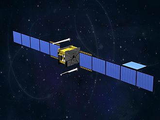 Skynet (satellite) - An artist's impression of a Skynet 5 satellite