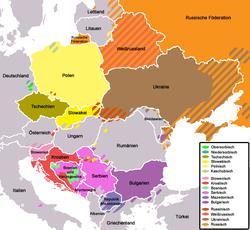 Slawische Staaten