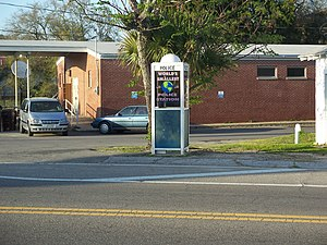 Carrabelle, Florida - The World's Smallest Police Station